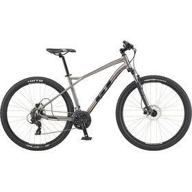 "GT Bicycles Aggressor Expert 29"", satin med silver"